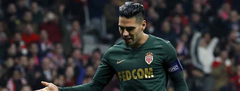 Falcao rechaza una oferta de un grande de España (y no es el Atlético)