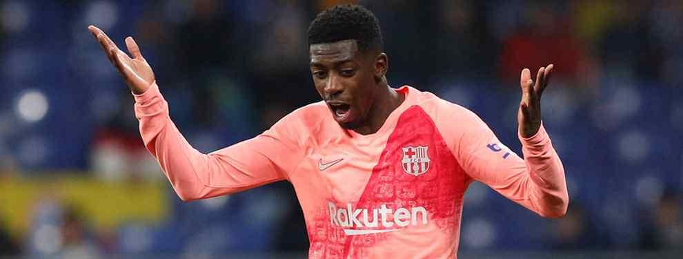 Dembélé elige el destino para salir del Barça (y es un bombazo)