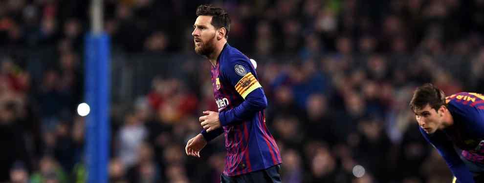 Messi no se esconde ni disimula: es el jefe del Barça. Su palabra va a misa y él marca las directrices a seguir en el club culé. Y nadie se atreve a discutirle sus decisiones.