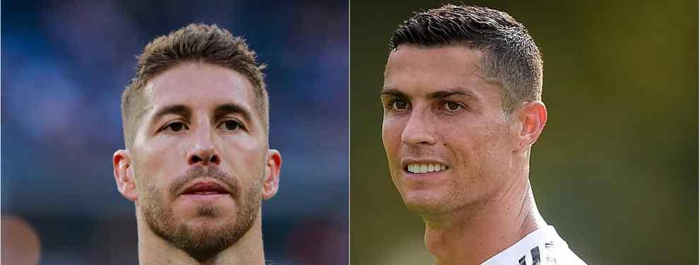 Sergio Ramos responde (y destroza) a Cristiano Ronaldo por meterse con el Real Madrid