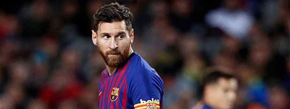 Messi no está para disgustos. Centrado en el mercado de fichajes, que está a la vuelta de la esquina, Leo mira con preocupación el futuro por los últimos rumores sobre posibles llegadas al Camp Nou.