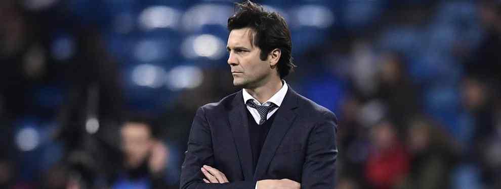 Solari no está para bromas. Tras la abultada derrota en casa ante el débil CSKA de Moscú, que le pone en el centro de las críticas, el técnico argentino no quiso saber nada de los periodistas y sus preguntas.