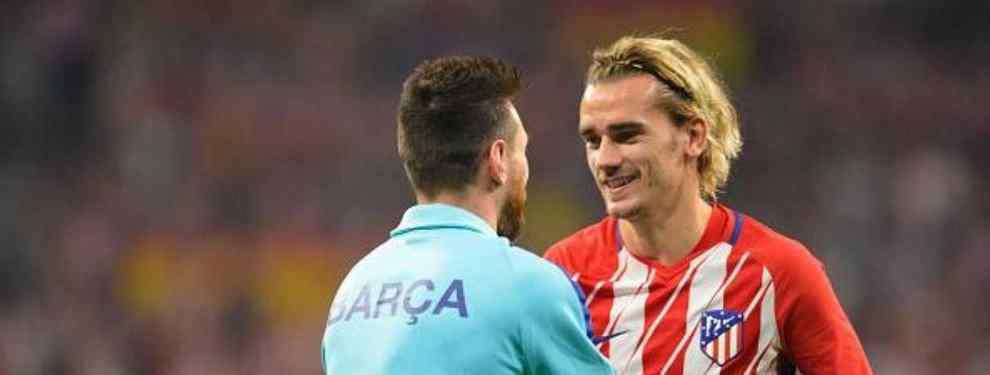 El francés Antoine Griezmann tiene una historia digna de un libro en el Atlético de Madrid, dado que ha pasado de ser idolatrado por parte de los aficionados colchoneros.