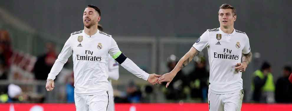 Florentino Pérez tiene otro as bajo la manga. El presidente del Real Madrid quiere reforzar la delantera, donde Benzema sigue siendo el '9' titular, y acabar con los problemas de gol que lastran al cuadro blanco.