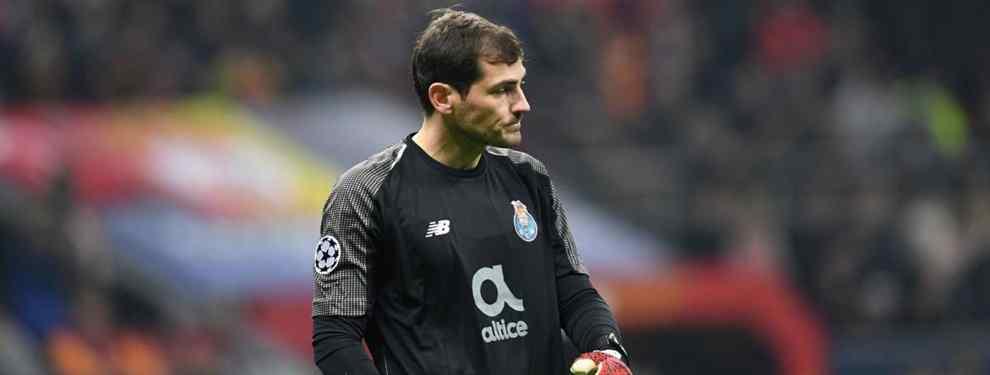 Iker Casillas vuelve a ser noticia en Madrid, en España y en el Mundo. El portero español, en las filas del Oporto actualmente, ha vuelto a liarla en público.