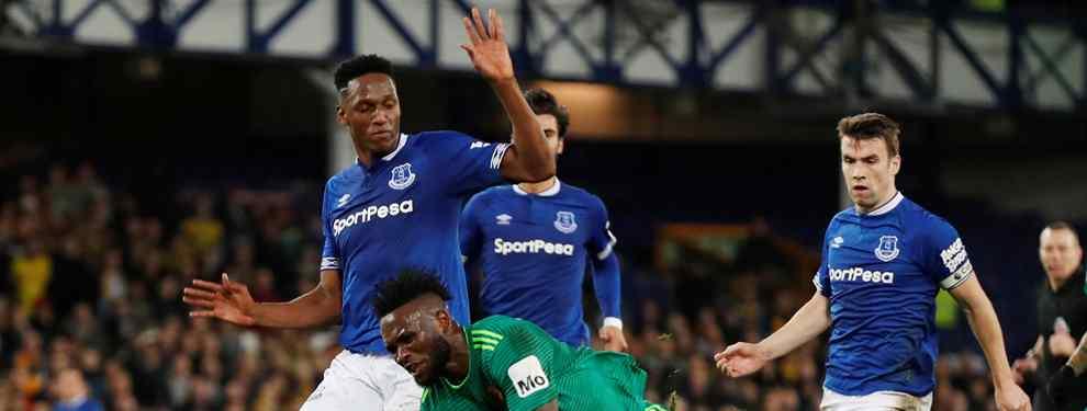 Al cuello. Así se ha lanzado una parte de la prensa inglesa con Yerry Mina al que acusan y responsabilizan de la derrota del Everton contra el Manchester City de Pep Guardiola.
