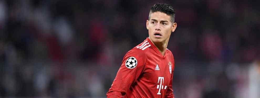 James Rodríguez sonríe. El crack del Bayern, arrinconado hasta el extremo por Niko Kovac, sabe que sólo un buen palo le sacará al técnico de Múnich y el Liverpool lo sirve en bandeja.