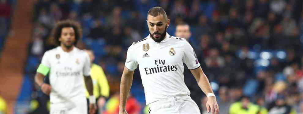 Siguen saliendo nuevos nombres que puedan jubilar a Benzema de una vez. Florentino Pérez quiere al francés fuera del Real Madrid lo antes posible y ya tiene un nuevo objetivo para la delantera.