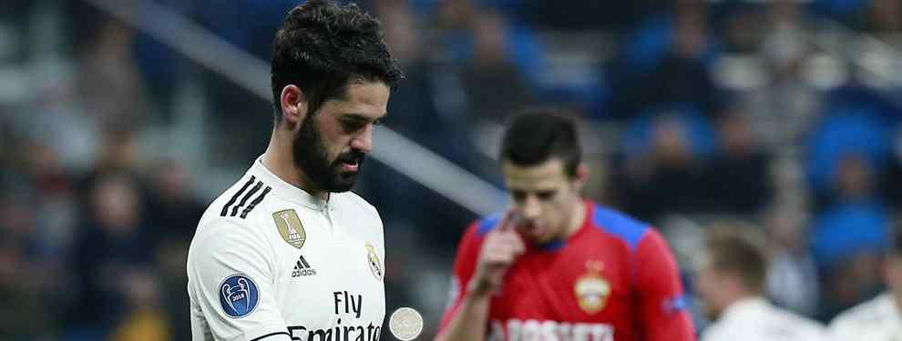 El futuro de Isco se define. Su salida del Real Madrid está cantada y solo queda por saber donde jugará a partir de enero. Y el que más posibilidades tiene de acogerle es el Manchester City.