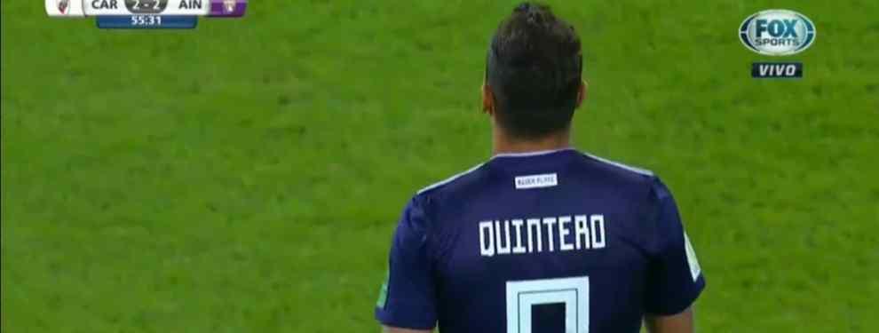 Escándalo en Can Barça. Según informan desde dentro del club, el cuadro azulgrana tuvo la oportunidad de fichar a Juan Quintero, estrella de River Plate, este verano a precio de ganga.