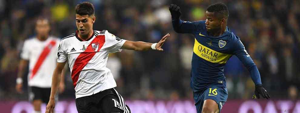 Wilmar Barrios vuelve a ser noticia. El crack de Boca Juniors, pretendido en Europa por equipos como Tottenham, Betis o Atlético de Madrid es uno de los favoritos a ser elegido Mejor Jugador de América.