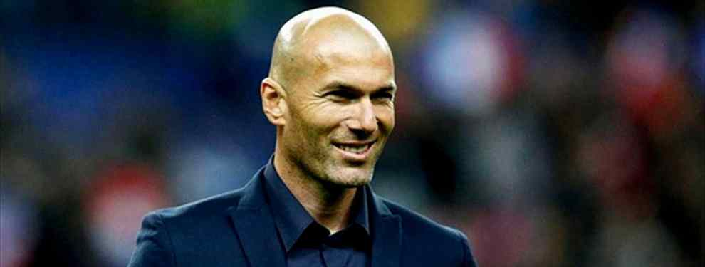 Zidane quiere llevarse a un galáctico de Florentino Pérez al Manchester United