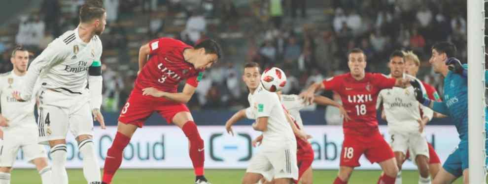 Victoria apretada del Real Madrid ante el Kashima Antlers. El equipo de Solari cumplió con los pronósticos y estará en la final del Mundial de Clubes, donde le espera el Al Ain.