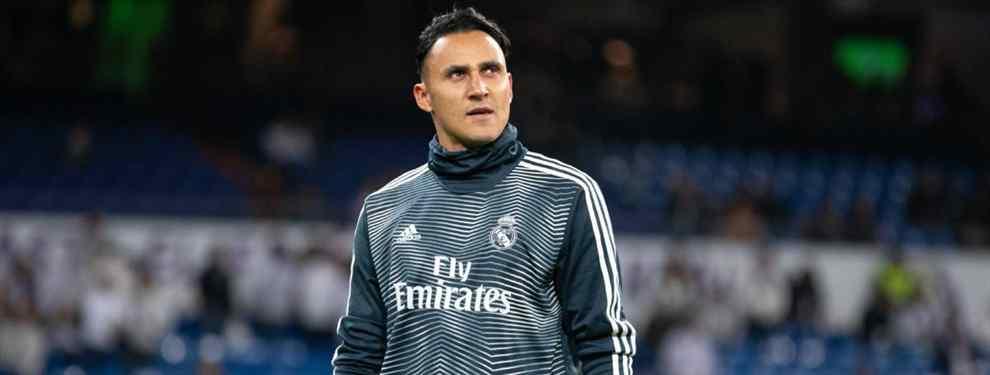 Keylor Navas no aguanta más en el Real Madrid: se va a Inglaterra (y Florentino Pérez da el OK)