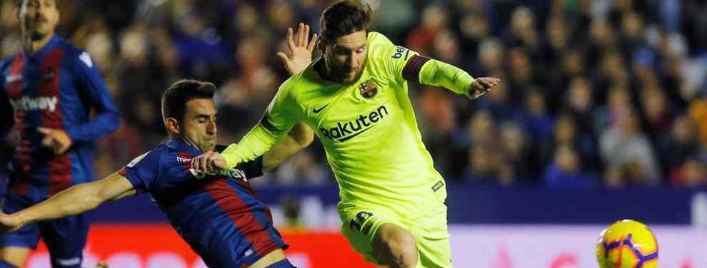 Messi pide un fichaje galáctico de Florentino Pérez al Barça