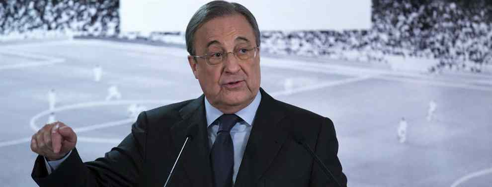 Florentino Pérez pasa al ataque. El presidente del Real Madrid ha arrancado las negociaciones para cerrar al que es el gran deseado de los blancos para la última línea.
