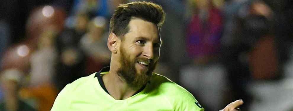 Messi tiene el primer fichaje galáctico del Barça (y está cerrado. Y se lo quitan a Florentino Pérez