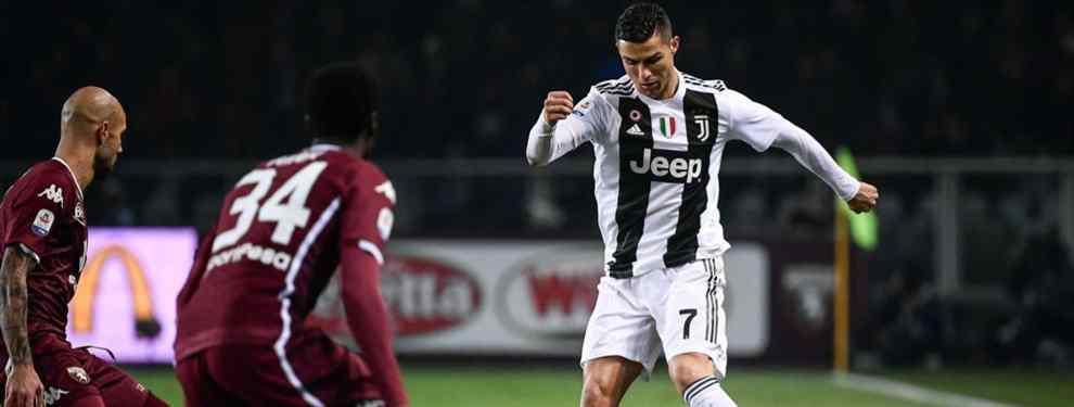 Cristiano Ronaldo sigue mirando La Liga Santander, donde pulverizó todos los records. El astro portugués no pierde de vista España para reforzar a 'su' Juventus, a la que quiere convertir en campeona de todo.