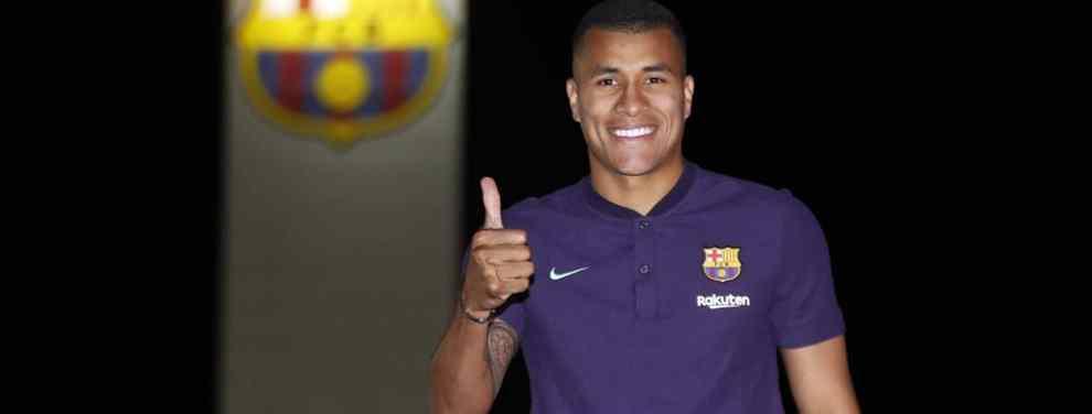 Jeison Murillo tiene la primera bronca en el Barça (y Messi está metido en el lío)