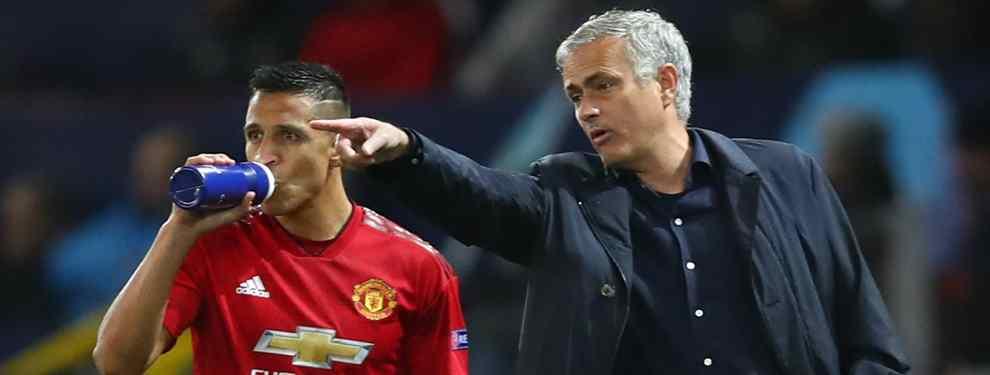 Alexis Sánchez rechaza una oferta de locos tras la salida de Mourinho (y Neymar lo pide para el PSG)