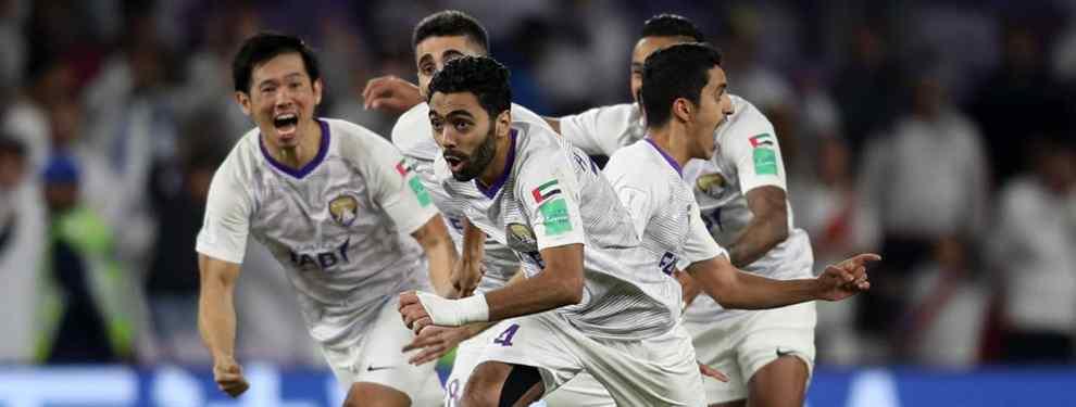 El equipo español que llamó a un crack del Al Ain después de jugar contra el Real Madrid