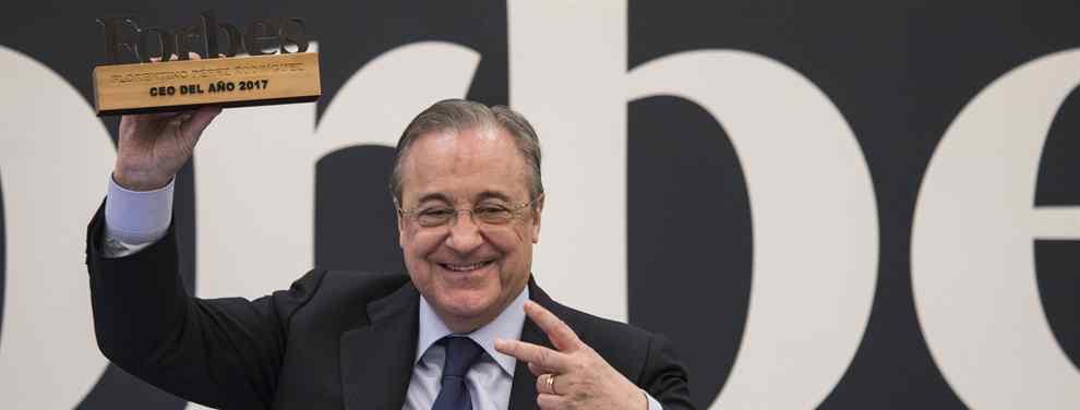 Florentino Pérez tiene una sorpresa para reforzar al Real Madrid. Y es para la delantera, la fuente de los problemas que arrastra el equipo dirigido por Santiago Solari.
