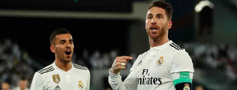 Sergio Ramos pide un galáctico estrella (y sorpresa) a Florentino Pérez para el Real Madrid 2019-20