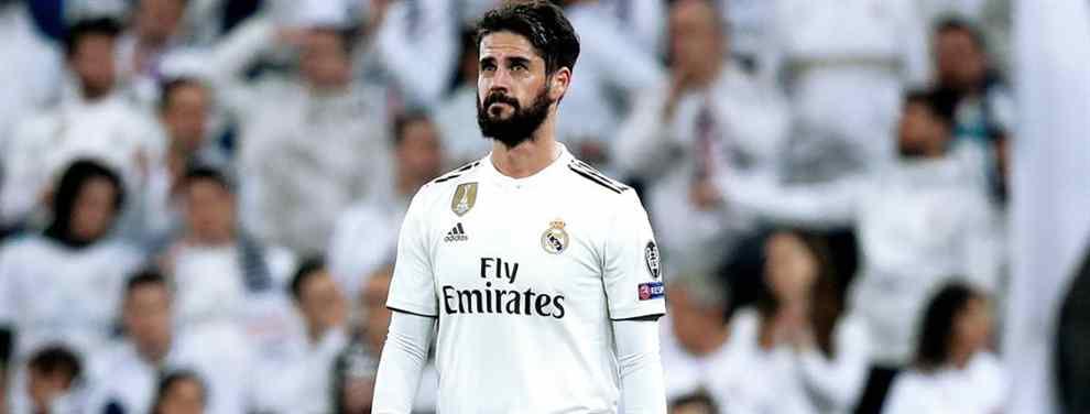 Florentino Pérez quiere más. El presidente del Real Madrid tiene a Isco sentenciado en el club blanco y, ahora, lo único que se busca es fecha para la ejecución.  Si por el mandatario fuera, liquidaría al malagueño ya en este mes