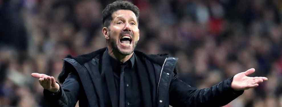 El Atlético de Madrid y el Cholo Simeone buscan a la desesperada un recambio para Diego Costa, actualmente lesionado de larga duración y que apunta a que se marchará a China en enero.