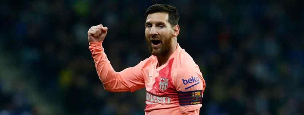 Messi pone el freno: el Barça congela la llegada de un galáctico (y es un escándalo)