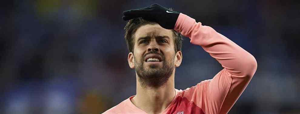 La foto de Piqué que desata una guerra en el Barça