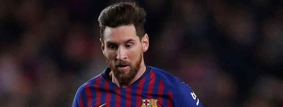El galáctico que traiciona a Messi y llama a Florentino Pérez: quiere jugar en el Real Madrid