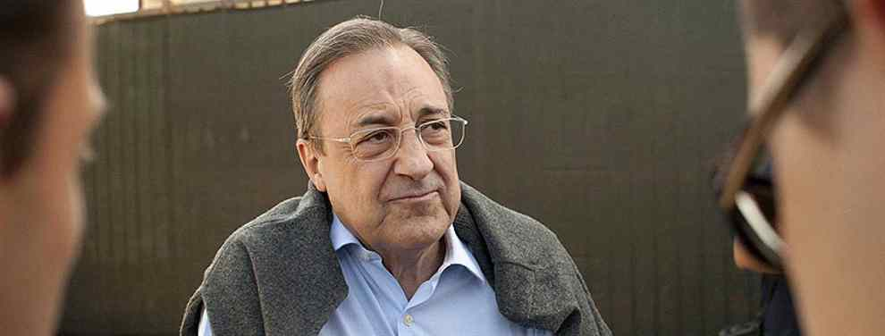 200 millones y al Real Madrid. Florentino Pérez pide precio (y no es Neymar, Mbappé, ni Hazard)