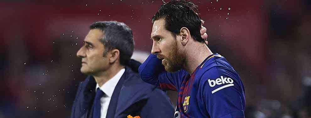 La extraña petición de Messi a Valverde que ha revolucionado al vestuario del Barça