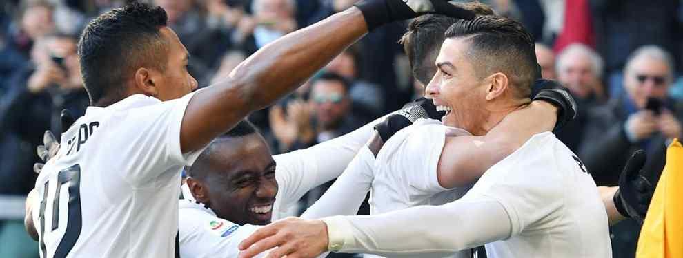 Niega al Barça para jugar con Cristiano Ronaldo en la Juventus