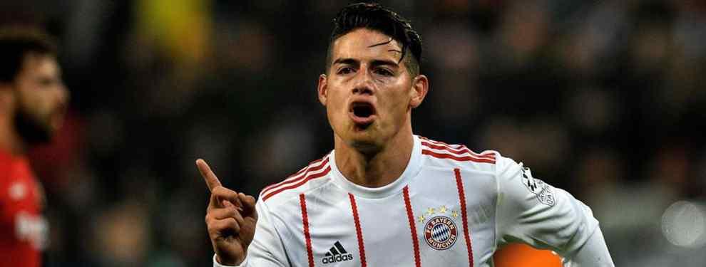 El Bayern de Múnich tiene una sorpresa para James Rodríguez (y no le va a gustar)