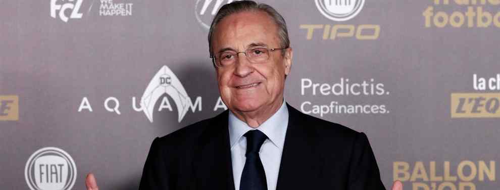 El tapado sorpresa de Florentino Pérez para la delantera del Real Madrid 2019-20