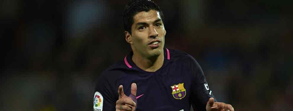 El Barça negocia (y en secreto) con el recambio sorpresa de Suárez (y está en la agenda del Madrid)