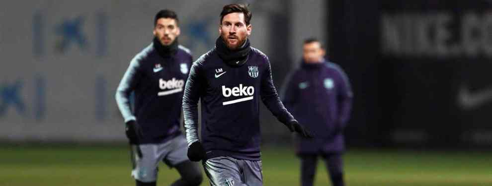 Niega a Messi y pasa de Florentino Pérez: el galáctico que da marcha atrás