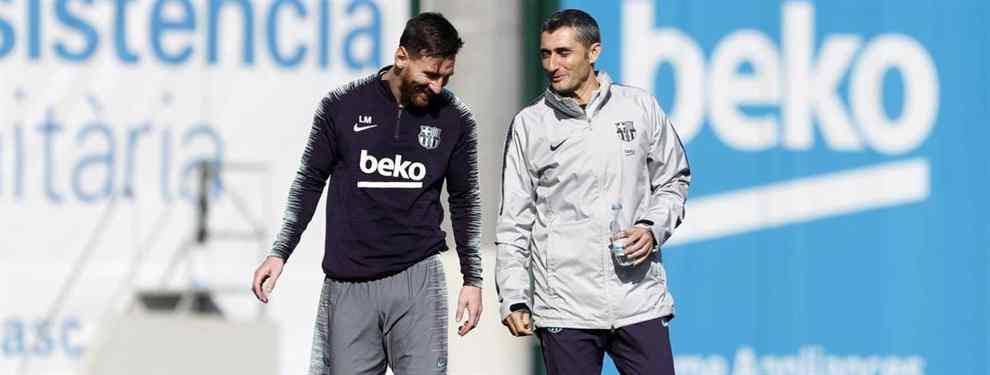 Valverde prepara su adiós: el Barça ya le busca sustituto (y Messi tiene un favorito)