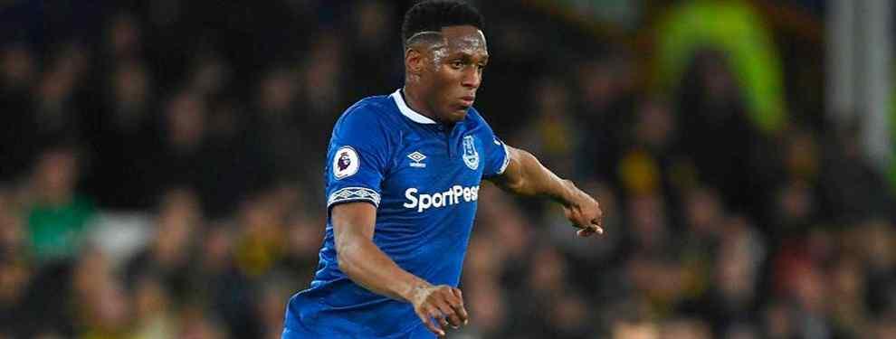 Lío con Yerry Mina en el Everton: la bronca que arrasa el Barça