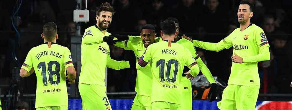 Leo Messi y el Barça no se detienen. El club azulgrana no se conforma y sigue mirando al mercado en búsqueda de nuevos cracks para reforzar a un equipo que aspira a levantar la Champions.