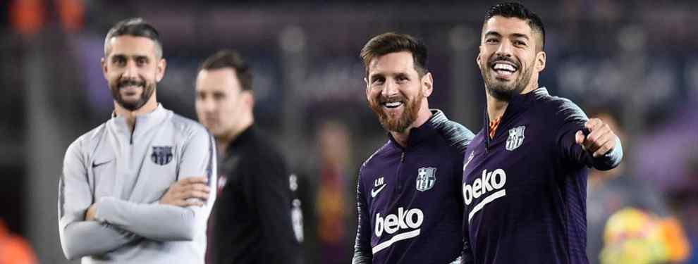 Quiere jugar con Messi en el Barça. Y planta a Florentino Pérez y al Real Madrid (y es un galáctico)