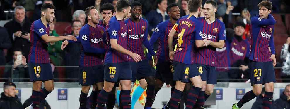 El Barça adelanta al Real Madrid por la derecha. El club culé ha tomado la delantera por un jugador que lleva meses en la agenda de Florentino Pérez, Benjamin Pavard, del Stuttgart.
