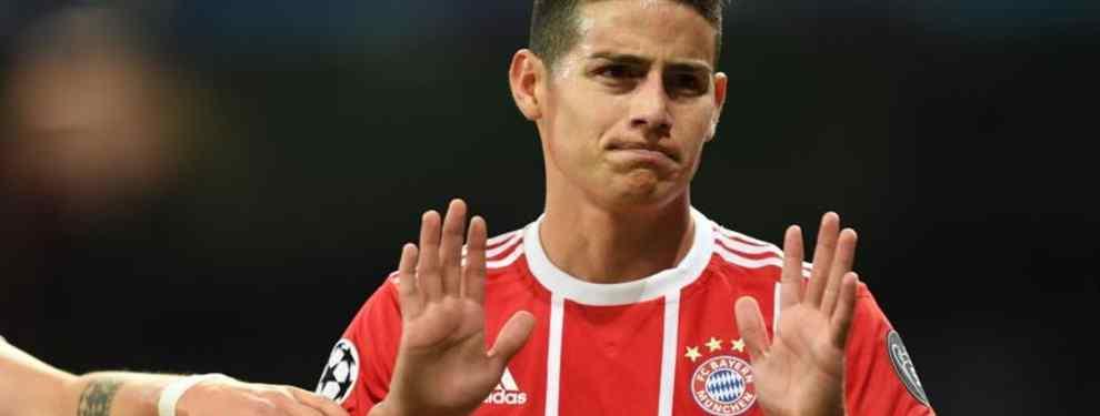 James Rodríguez está en problemas: la cláusula que puede evitar su vuelta al Real Madrid