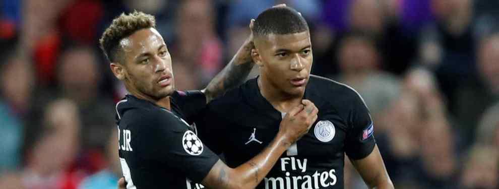 El fichaje que Neymar quiere en el PSG para cargarse a Messi (Cristiano Ronaldo quiere impedirlo)