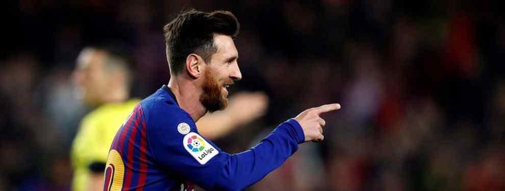 El FC Barcelona venció al Getafe y se aprovechó del empate entre el Sevilla y el Atlético y de la derrota del Real Madrid para poner la liga patas arriba. Leo Messi se inventó un gol donde no lo había para hacer el 0-1.