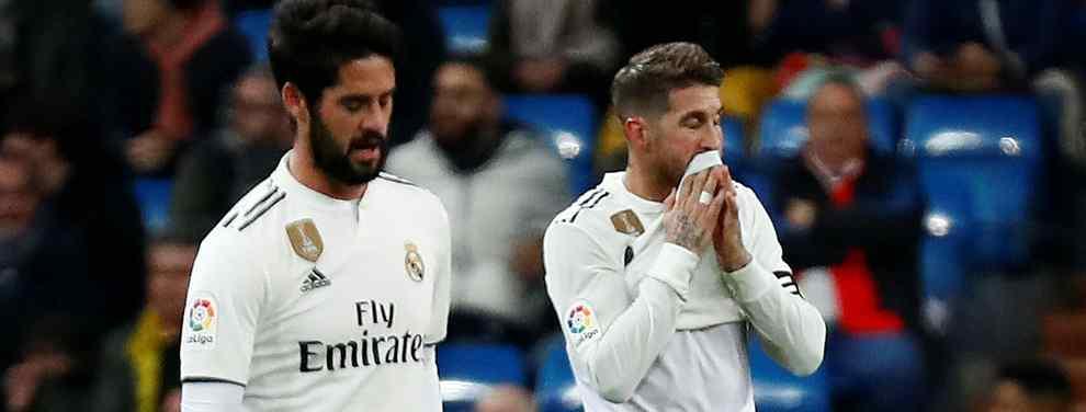 La pelea de Sergio Ramos con un crack del Real Madrid: ¡A gritos!