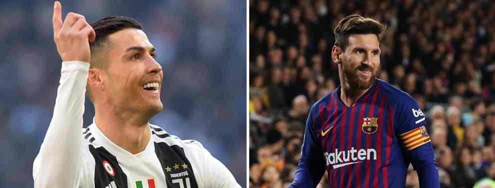 El escándalo, que manejan Messi, Cristiano Ronaldo y compañía, saca los colores a Florentino Pérez y al Real Madrid que el pasado verano tenía colocado al jugador por 150 'kilos' al United.