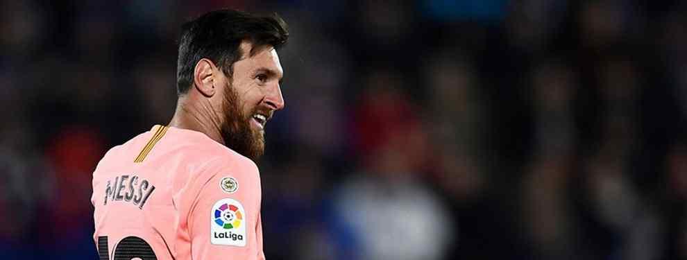 Messi no se lo cree: la vergonzosa lista de delanteros para el Barça